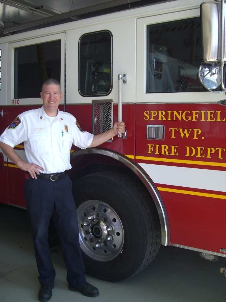 Springfield Township Fire Chief David Feichtner.