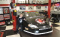 Young racer hits the big leagues