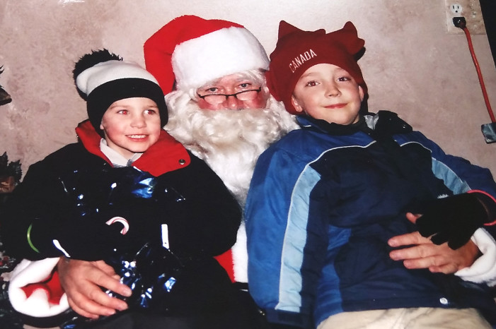 Remembering Christmases past to smile today