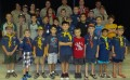 Cub Scouts help out heroes