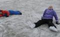 Ice skating fun
