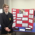 Alex Czarnecki at the 60th Science & Engineering Fair of Metro Detroit