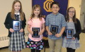 Students honored for citizenship, hard work