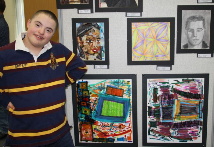Student art wows community