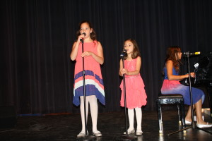 Christen, Carly and Cayla performing 'You are my sunshine' 8