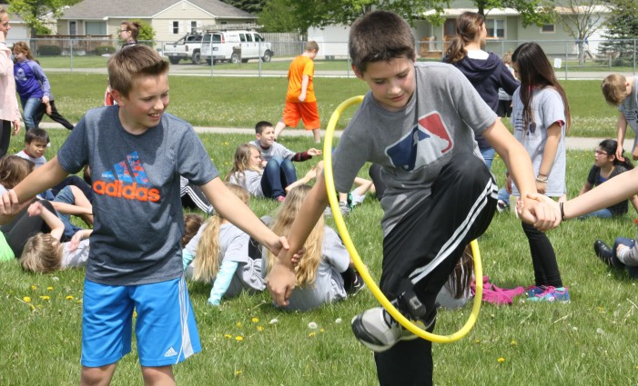 Exercise and learning during school ACES Day