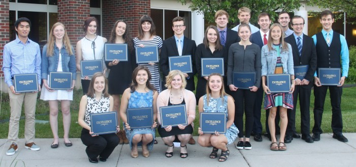 Board honors scholars