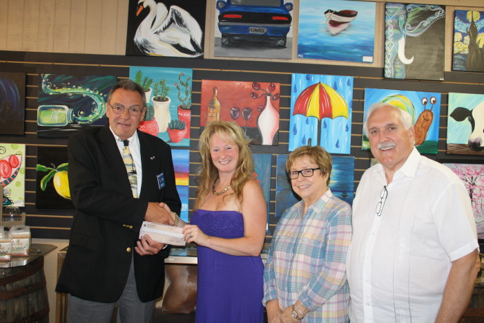 Community support for art for special-needs adults