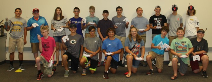 Flying fun at RUSH Drone Camp