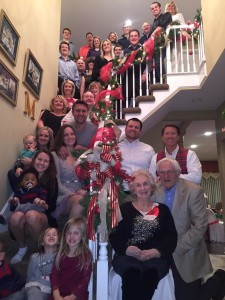 The Bullen family gathers for the holidays.