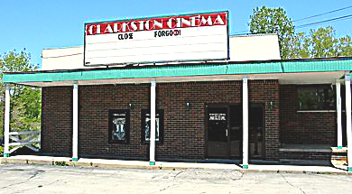 Here is a picture of the Clarkston Cinema I snagged online.