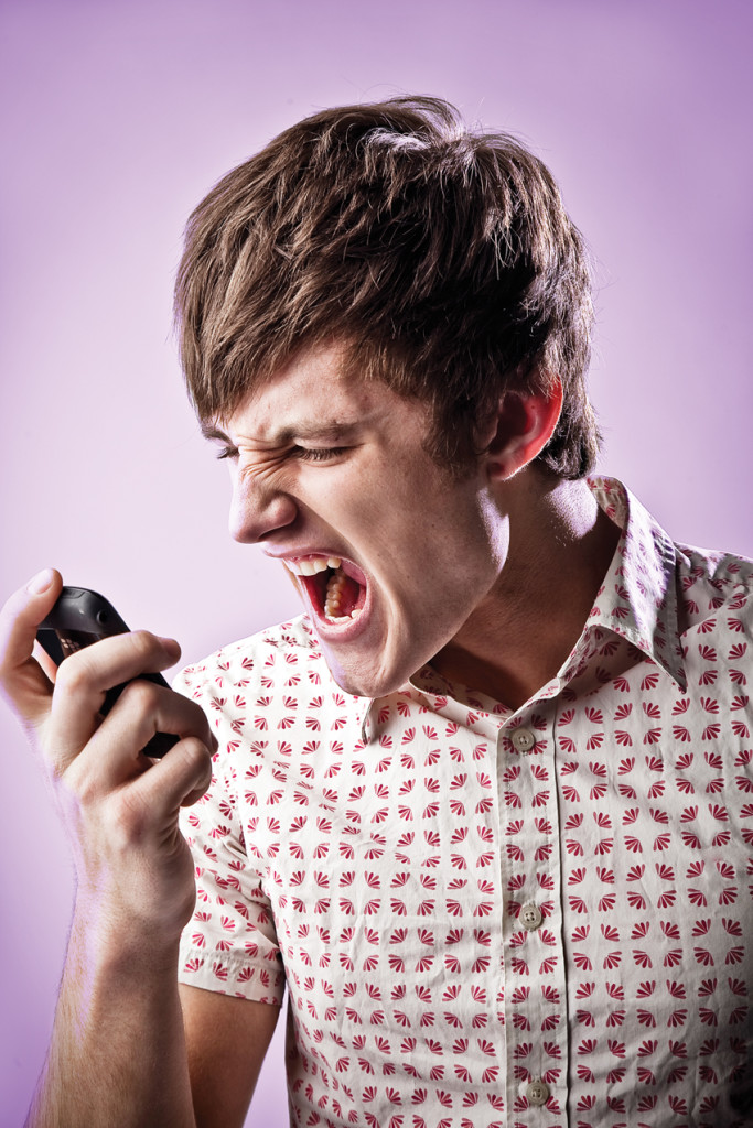 """Maybe I should answer one time and just scream, """"Don't Call Me!"""""""