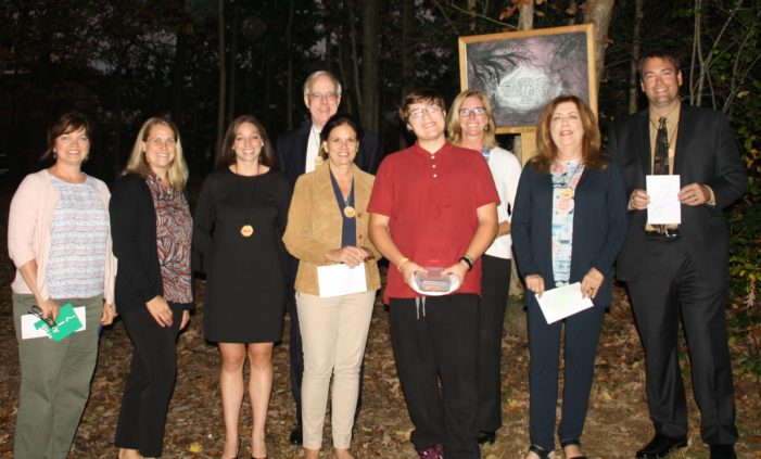 School board tours nature lab