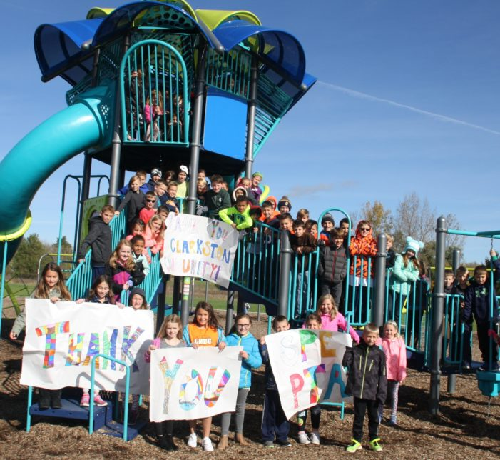 New playground provides new fun