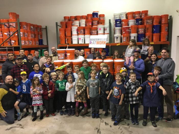 Scouts pack DRAW buckets
