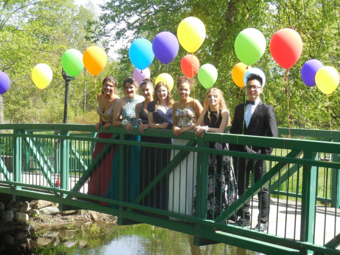 Prom in the park