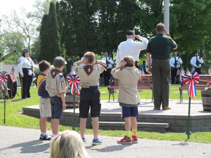 Veterans'  sacrifice  honored