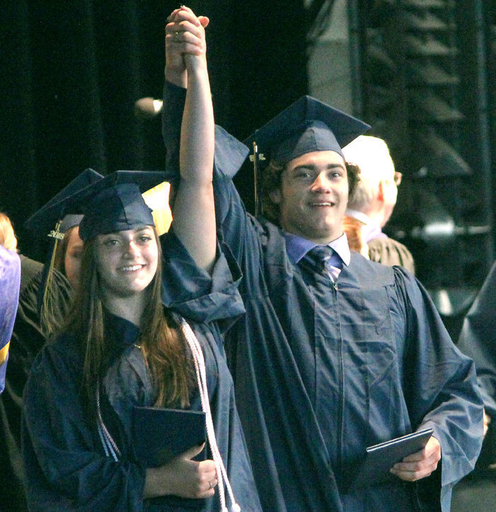 Diploma time for Clarkston's class of 'champions'