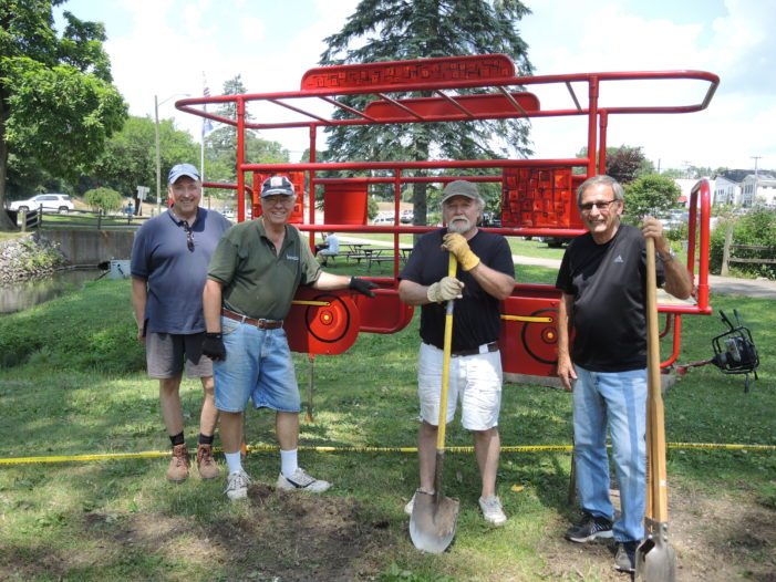 Depot Park playground back on track