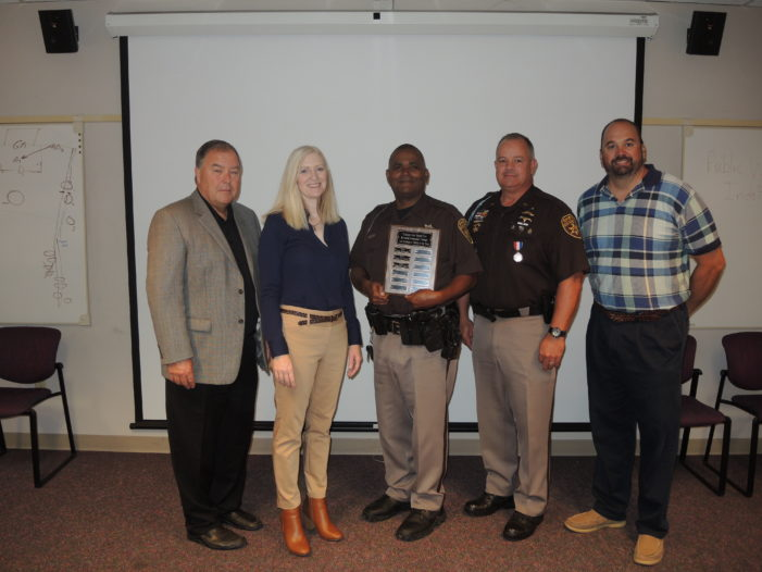 Top cop honored