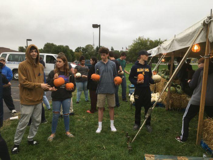 Moving pumpkins