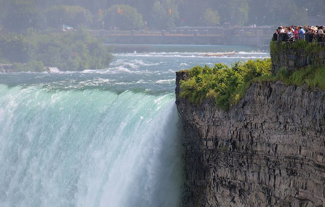 Niagara Falls going back to its daredevil past