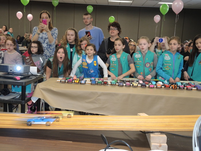 Scouts learn design skills at derby