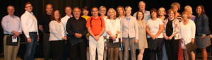 Clakston teachers were recognized by the school board for their work in classrooms and throughout the district. Photo by Trevor Keiser