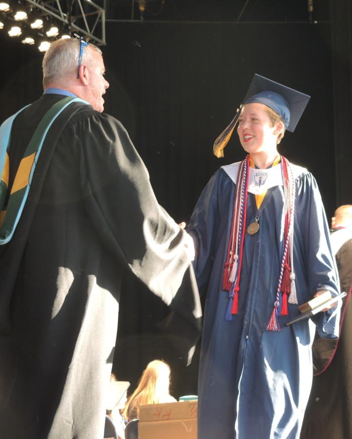 Diplomas for grads