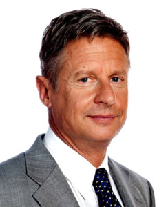 Gary Johnson the liberator?