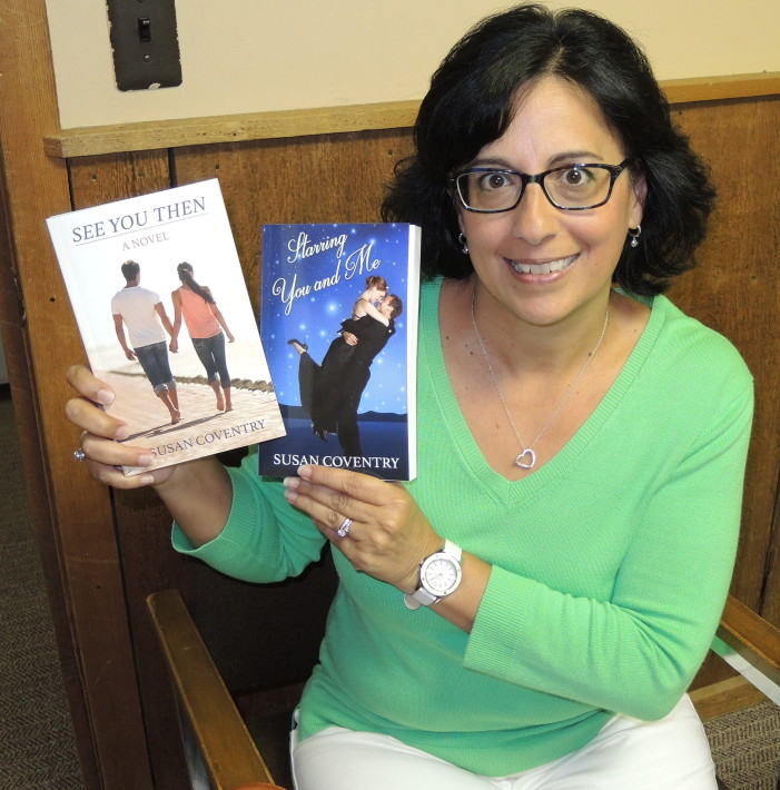 Romance in the air for local author