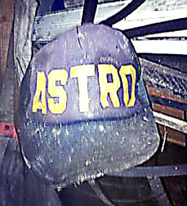 Given to me in about 1978, found in my garage in about 2015. The Astro cap!