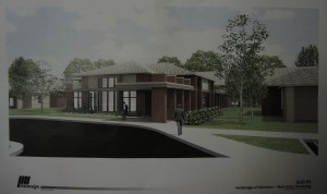 An artist's rendition of the project. Photo provided