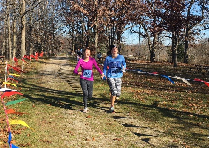 Road race in the park