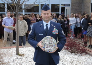 Master Sergeant Lyle B. Black II was honored for his service.