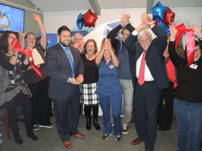 Ribbon cutting for Clarkston Chiropractic