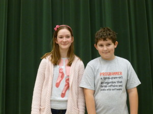 Brooke Cousins and Aaron Palardy of Clarkston will be appearing in Marist Academy's upcoming production of Peter Pan JR. Photo provided
