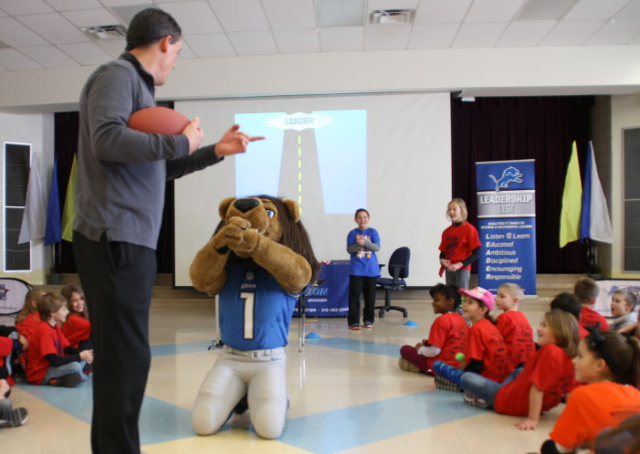 Lions demonstrate healthy living