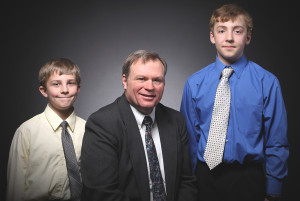 The boys and I, oh in about 2008.
