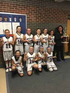 North Oakland Wolfpack Girls 11U wins the Wolfpack's Ball with Best tournament. Photo submitted