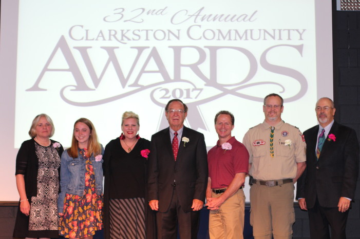 Seven saluted for service to Clarkston community