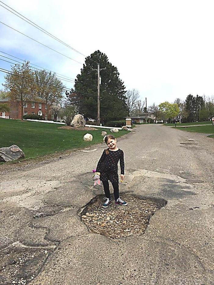 Parview pothole