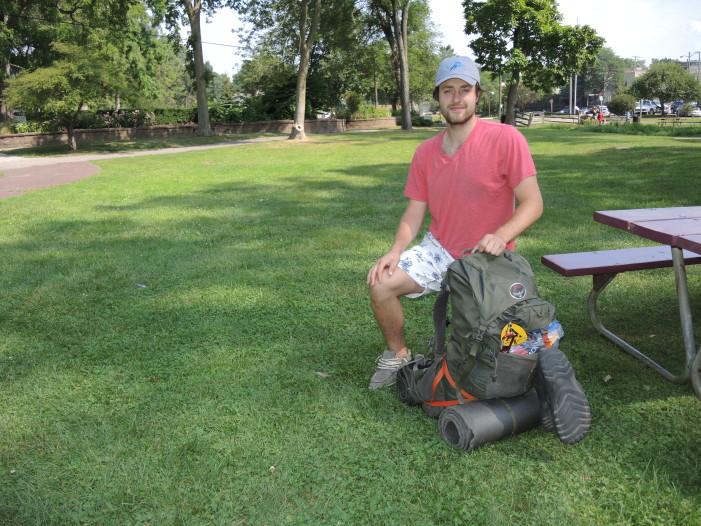 Grad  takes summer hike on Appalachian Trail