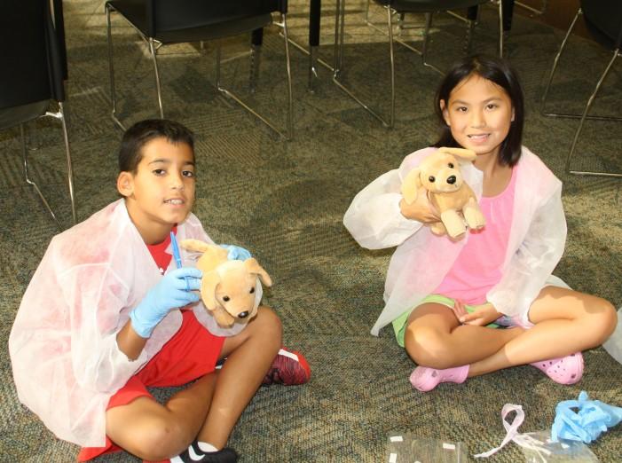 Pet care camp