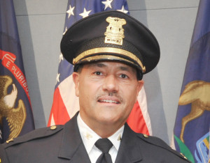 Jerry's day job? Police chief in Lake Orion, Michigan