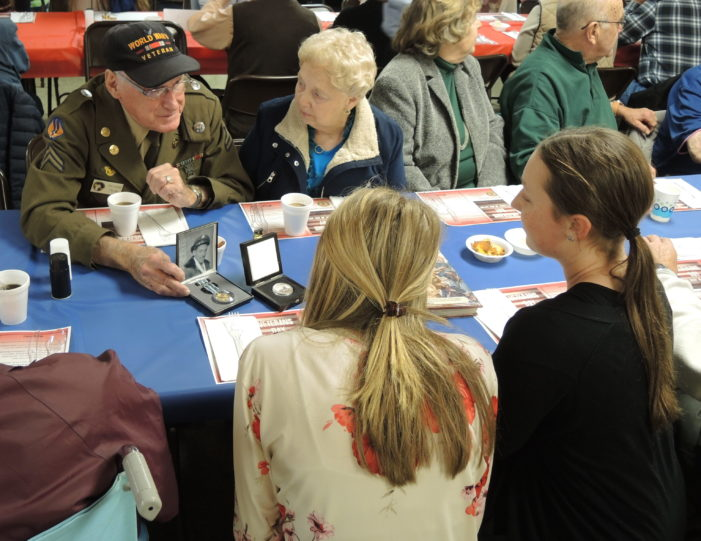 Lunch for vets
