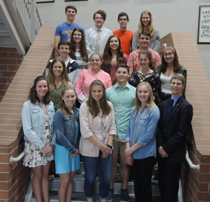 High school graduates honored for scholarship