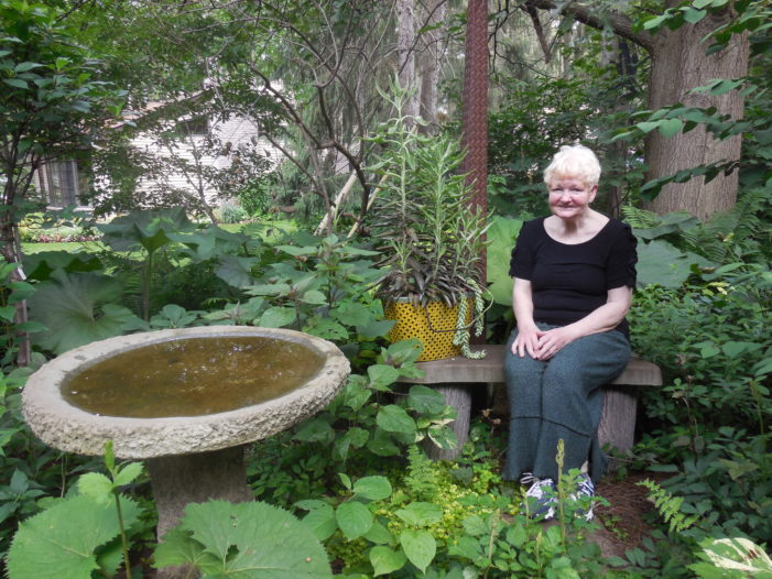 Garden fills backyard with lifetime of growth