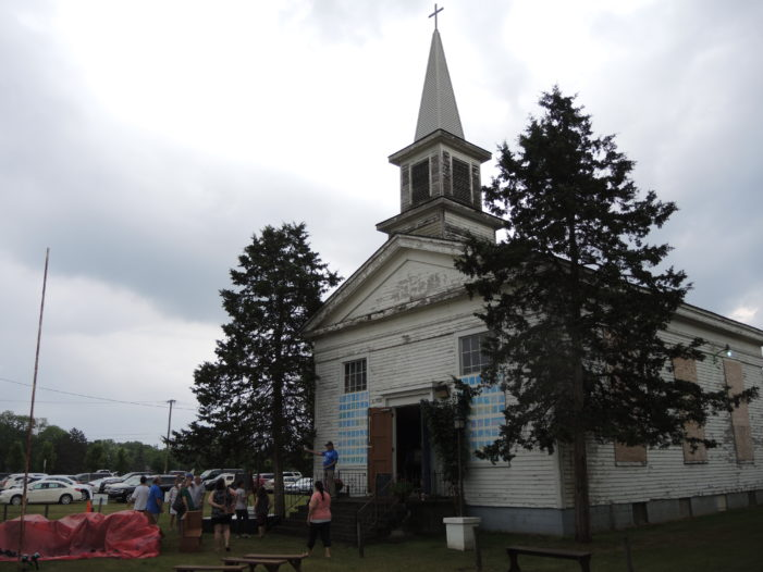 Open house for historic church