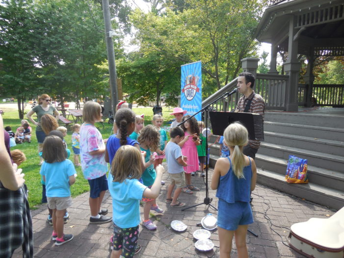 Depot Park alive with music